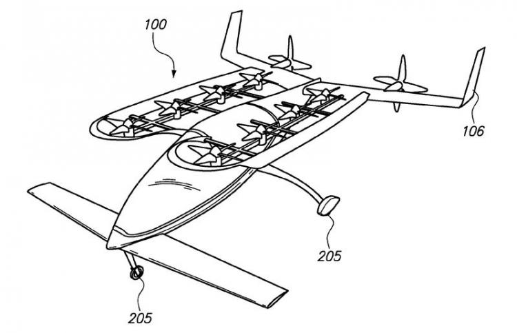 Ларри Пейдж финансировал разработки летающих автомобилей