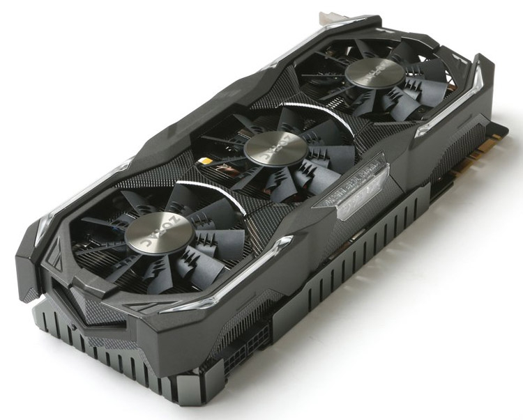 Видеокарта ZOTAC GeForce GTX 1070 AMP Extreme