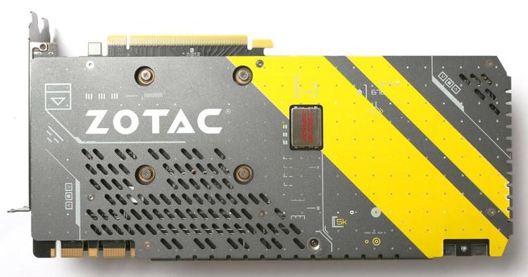 Видеокарта ZOTAC GeForce GTX 1070 AMP Edition