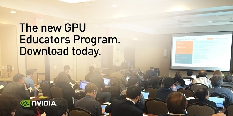Запуск GPU Educators Program