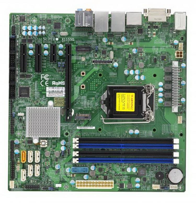 X11SSQ: если нужно больше слотов и памяти