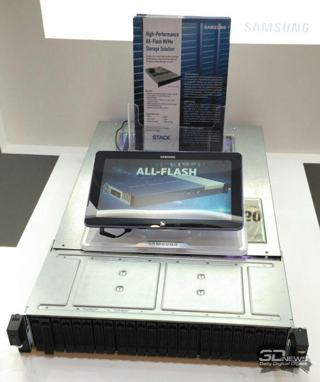 SSD Samsung на ISC 2016