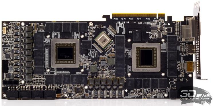 Конструкция PowerColor Devil 13 Dual Core R9 290X была чудовищно сложной