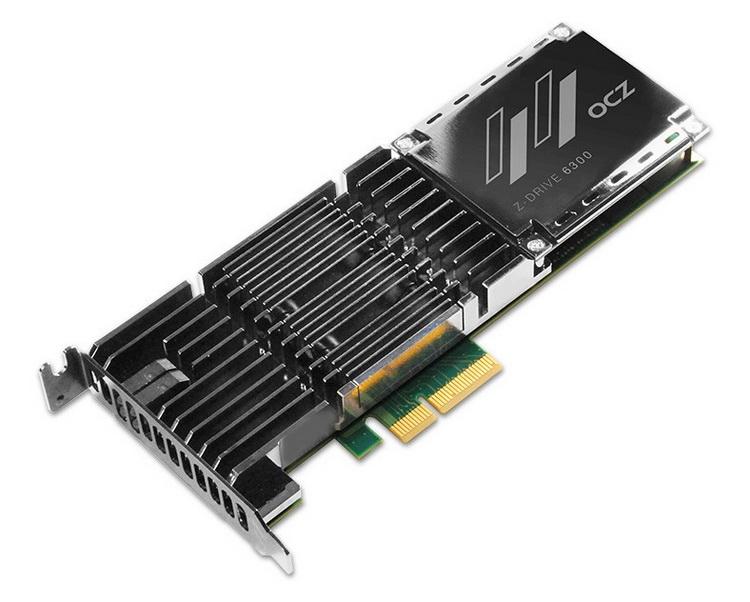 Серия ZD6300 использует eMLC и доступна в виде плат расширения PCIe
