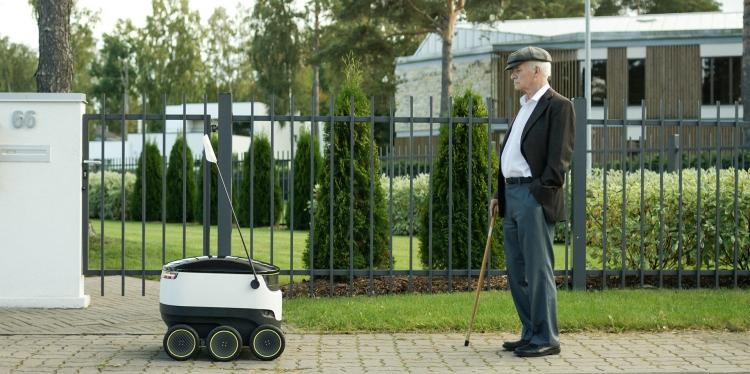 Этой осенью Starship протестирует доставку автономными роботами в Вашингтоне