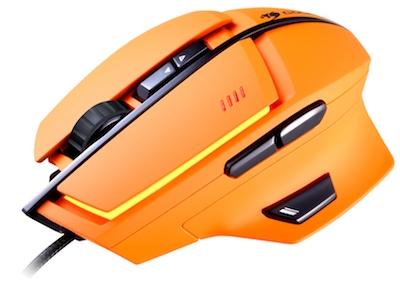 Игровая мышка Cougar 600M (оранжевая)