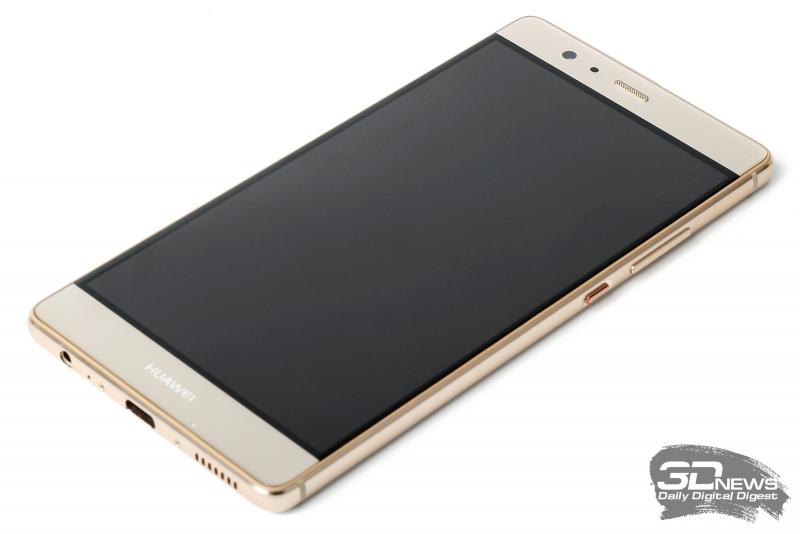 Huawei P9 Plus – лицевая панель