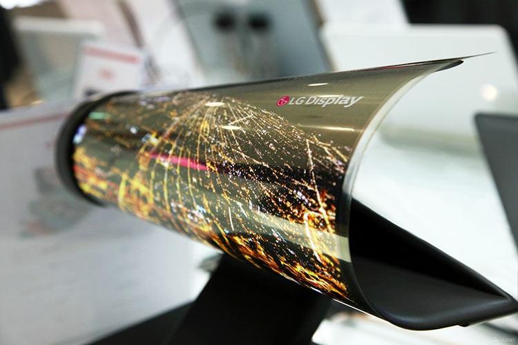 """Устройства с гибкими экранами появятся в следующем году"""""""
