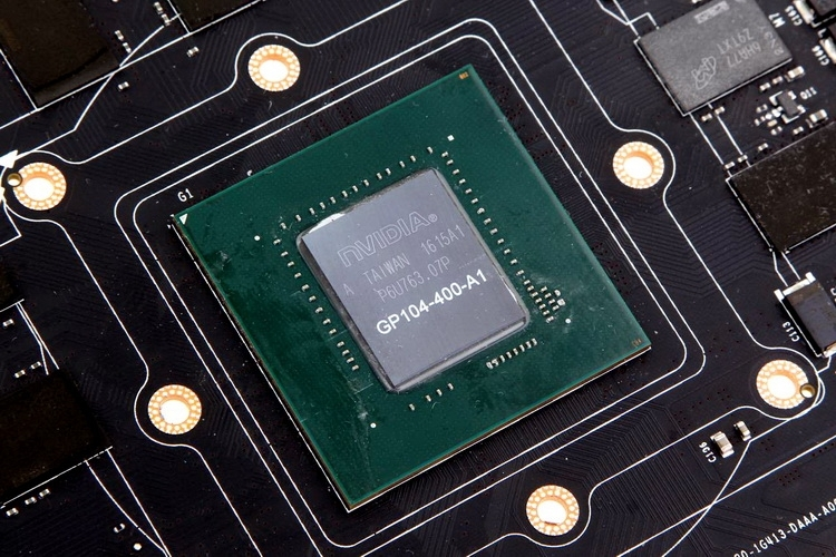 Настольная карта GeForce GTX 1080 (GP104)
