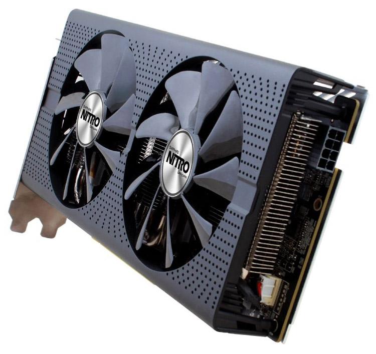 Видеокарта Sapphire Nitro+ Radeon RX 480 8G GDDR5 OC