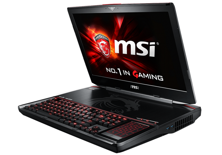 GT80S 6QE Titan SLI — текущий флагман линейки игровых ноутбуков MSI