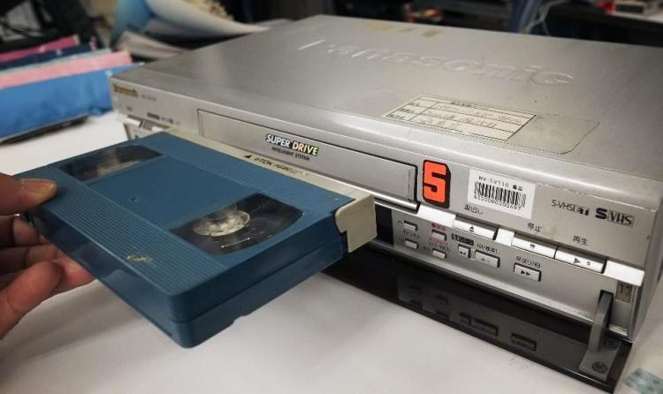 Последняя модель VHS-видеомагнитофона в мире, Токио, 22 июля 2016 года