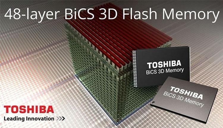 Western Digital начал выпуск 3D Nand-памяти