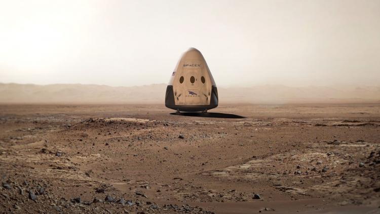 Названа примерная стоимость марсианской миссии SpaceX Red Dragon