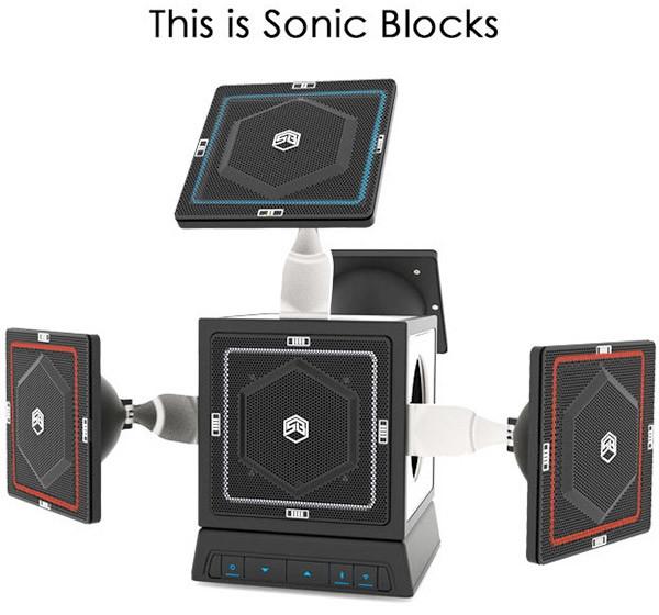 """Sonic Blocks: первая модульная беспроводная музыкальная система"""""""