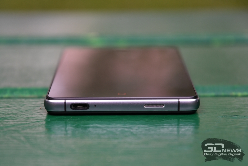 ZTE Z9 Max, нижняя грань: разъем microUSB, разговорный микрофон, динамик