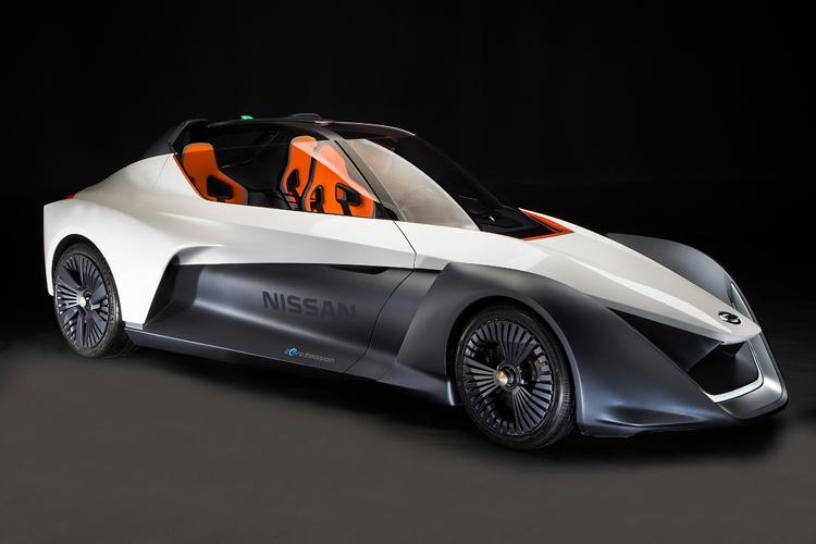 nissan bladeglider электромобиль уникальной конструкцией