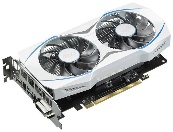 видеокарта ASUS Radeon RX 460 Dual OC (Dual-RX460-O2G)
