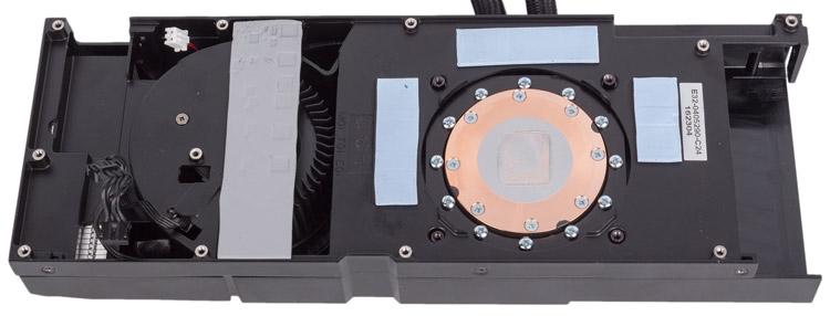 Кулер модели MSI GeForce GTX 1070 Sea Hawk, фото bit-tech.net
