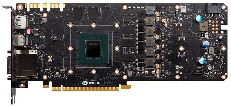 Печатная плата GeForce GTX 1080 Founders Edition