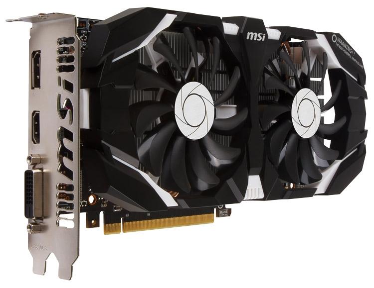 MSI GeForce GTX 1060 6GT OCV1