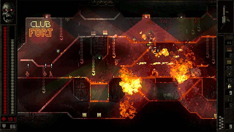 Butcher — кровавый 2D-шутер в духе Doom и Quake от польской студии