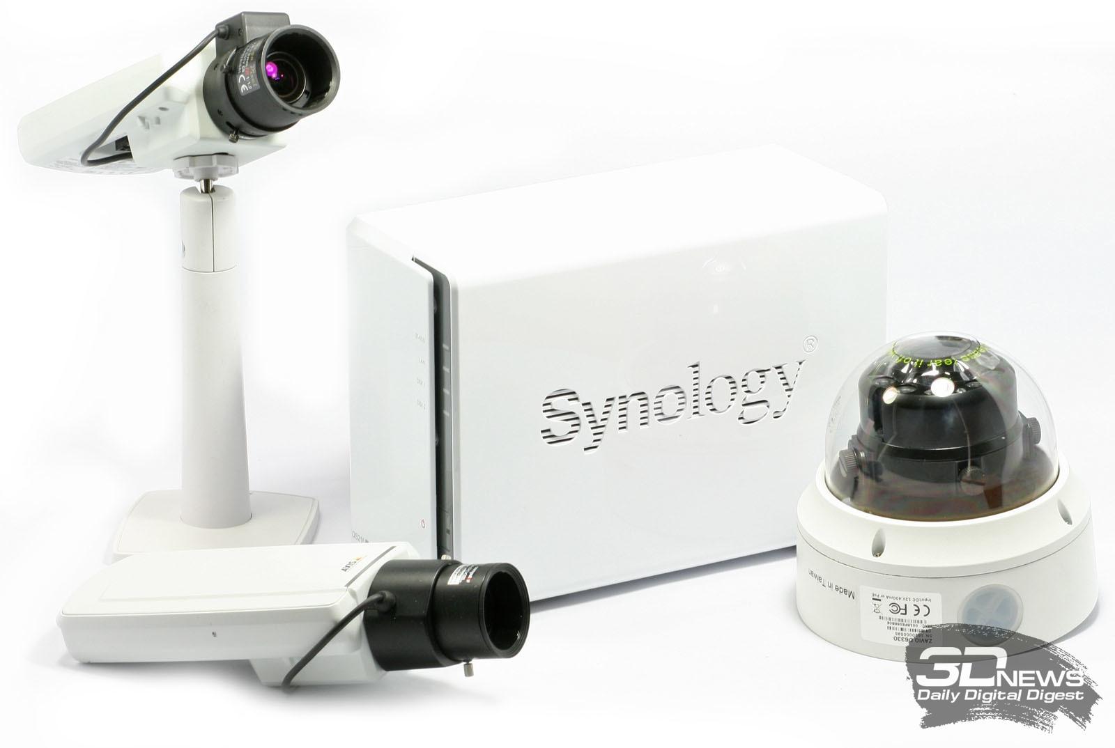 Система видеонаблюдения на основе Nas Synology Ds216j с