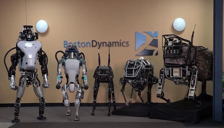 Видео дня: робот Boston Dynamics балансирует на одной ноге на ребре доски