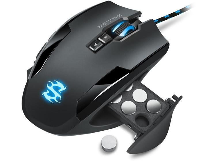 """Игровая мышь Sharkoon Skiller SGM1 снабжена системой оптимизации веса"""""""