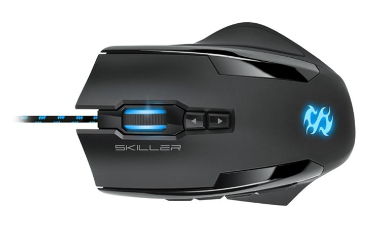 Игровая мышь Sharkoon Skiller SGM1 снабжена системой оптимизации веса