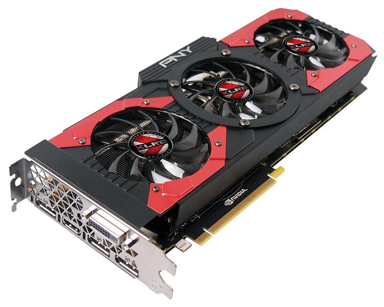 Видеокарта PNY GeForce GTX 1080 XLR8 Gaming OC