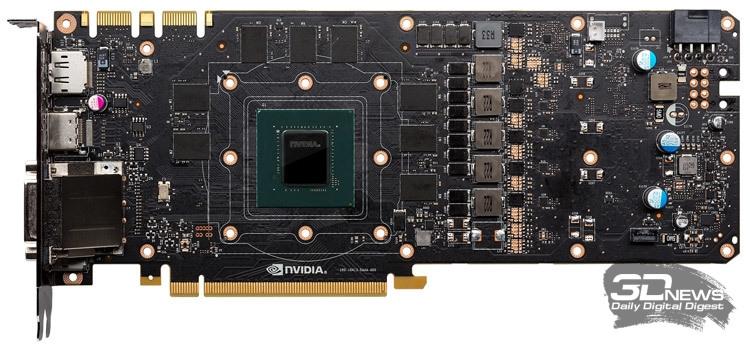 Референсная плата GeForce GTX 1080 Founders Edition