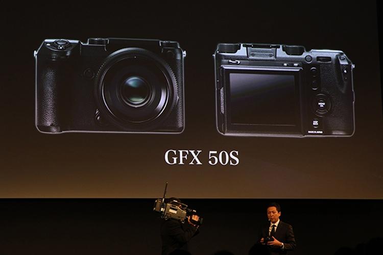 """Fujifilm GFX 50S: среднеформатный беззеркальный фотоаппарат с 51,4-Мп сенсором"""""""
