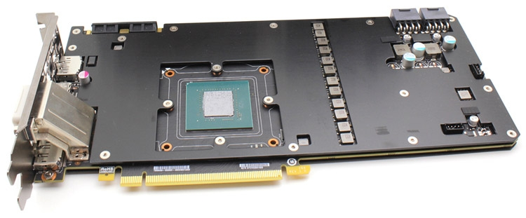 PCB видеокарты EVGA GeForce GTX 1070 FTW Gaming ACX 3.0