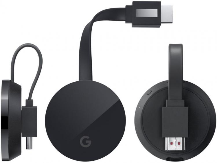 """Фото ТВ-брелока нового поколения — Google Chromecast Ultra"""""""