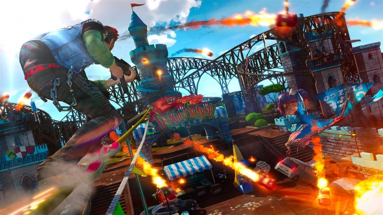 Insomniac Games хотела бы выпустить шутер Sunset Overdrive на ПК""