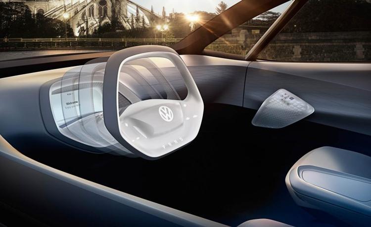 """Volkswagen I.D.: электрический концепт-кар с запасом хода до 600 км"""""""