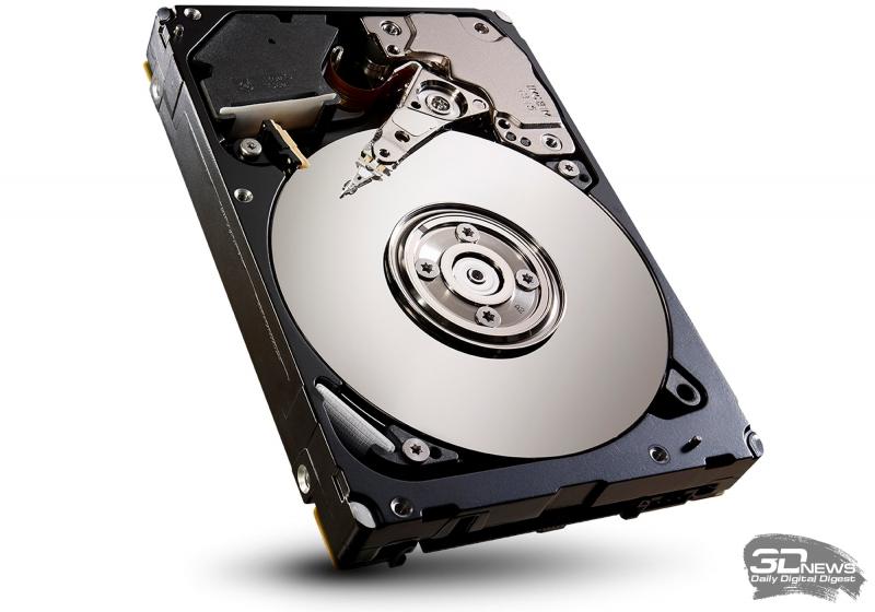 Жёсткий диск Seagate Enterprise Performance со скоростью вращения шпинделя 10 тысяч оборотов в минуту. Фото Seagate.