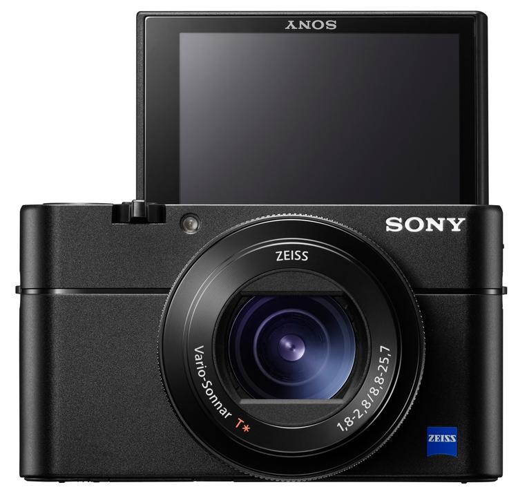 Сони анонсировала флагманскую компактную камеру RX100 Mark V