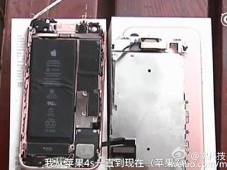 iPhone 7 взорвался в руках пользователя во время съёмки видео