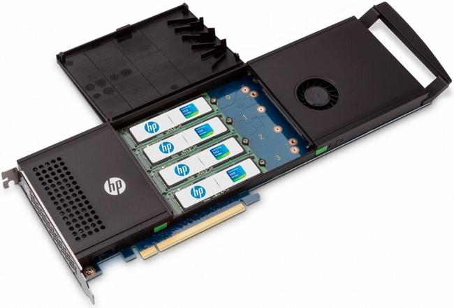 Решение HP: до четырёх плат M.2 в едином корпусе