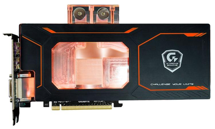 Видеокарта Gigabyte GeForce GTX 1080 Xtreme Gaming WaterForce WB 8G (модель GV-N1080Xtreme WB-8GD)