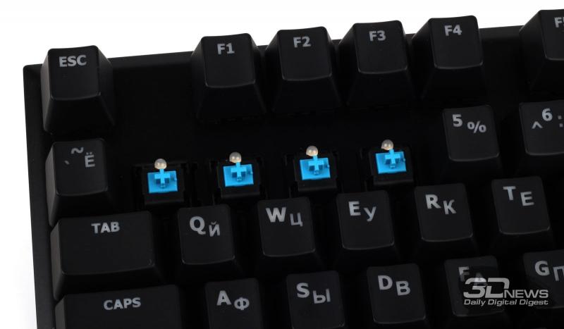 Клавиши Cherry MX Blue