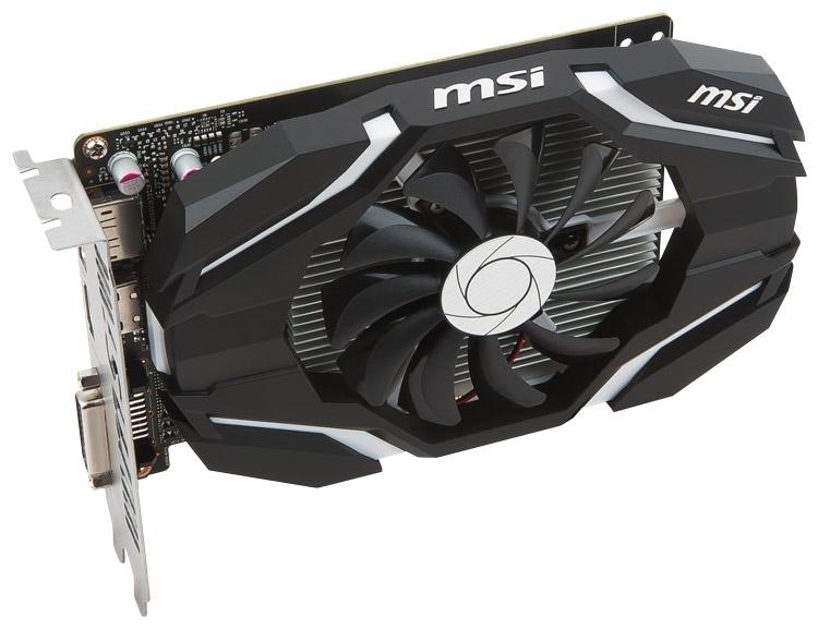 Видеокарта MSI GeForce GTX 1050/1050 Ti