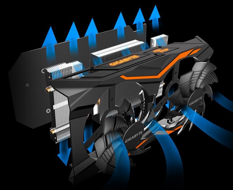 Видеокарта Gigabyte GeForce GTX 1050 Ti G1 Gaming