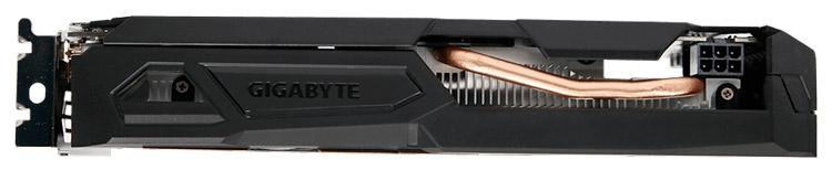 Видеокарта Gigabyte GeForce GTX 1050 Ti Windforce OC
