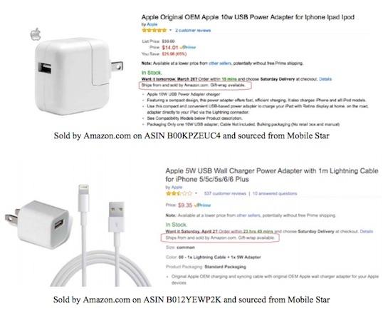 90 % зарядных устройств и кабелей для iPhone на Amazon — подделка