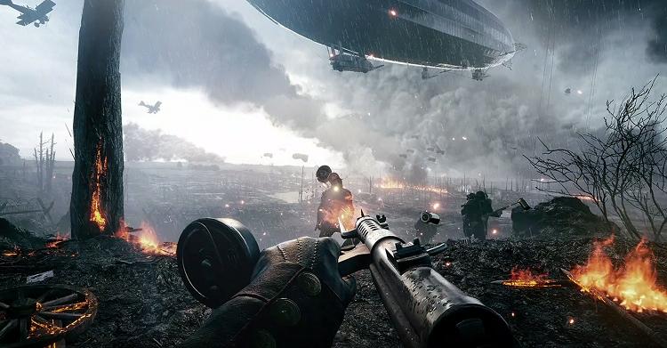 Шутер Battlefield 1 поступил в продажу