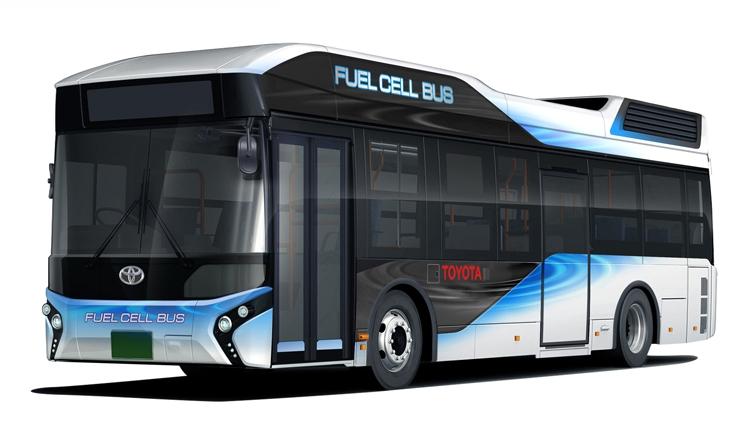 Toyota выведет на рынок автобусы на топливных элементах