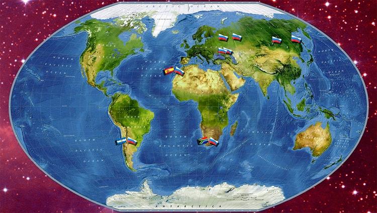 Глобальная роботизированная сеть «МАСТЕР» мониторинга космического пространства / МГУ